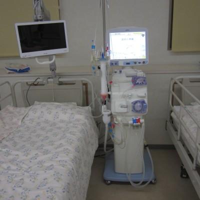透析用のベッド(3階)